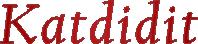 Katdidit Web DevLogo Image