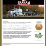 Screen Shot of kgrahamtrucking.com