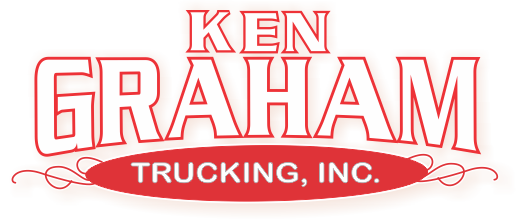 Custom logo created based on picture of embroidered jacket for kgrahamtrucking.com